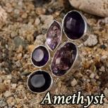 Amethyst ring rubycharm A14N003